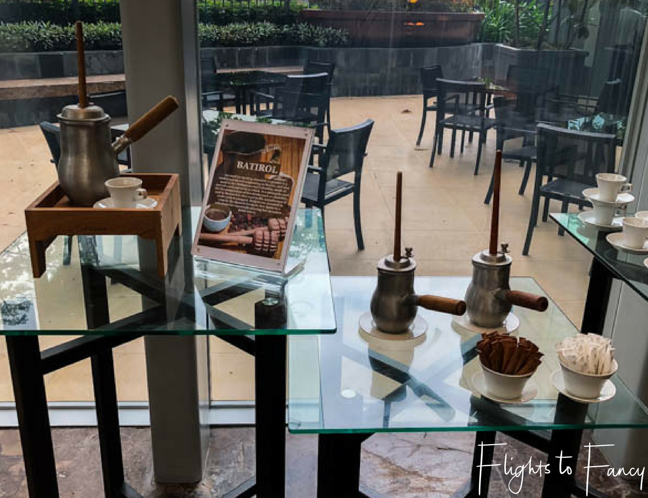 Flights To Fancy @ Raffles Makati Manila - Hot Chocolate? Yes please!
