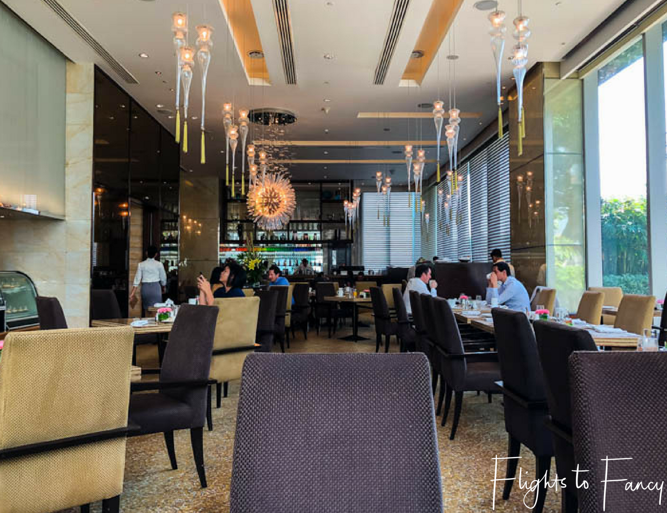 Flights To Fancy @ Raffles Makati Manila - Restaurant