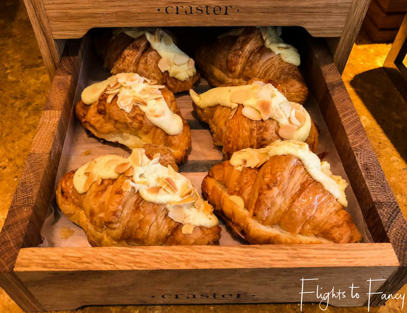Flights To Fancy @ Raffles Makati Manila - Start the day with a tasty croissant