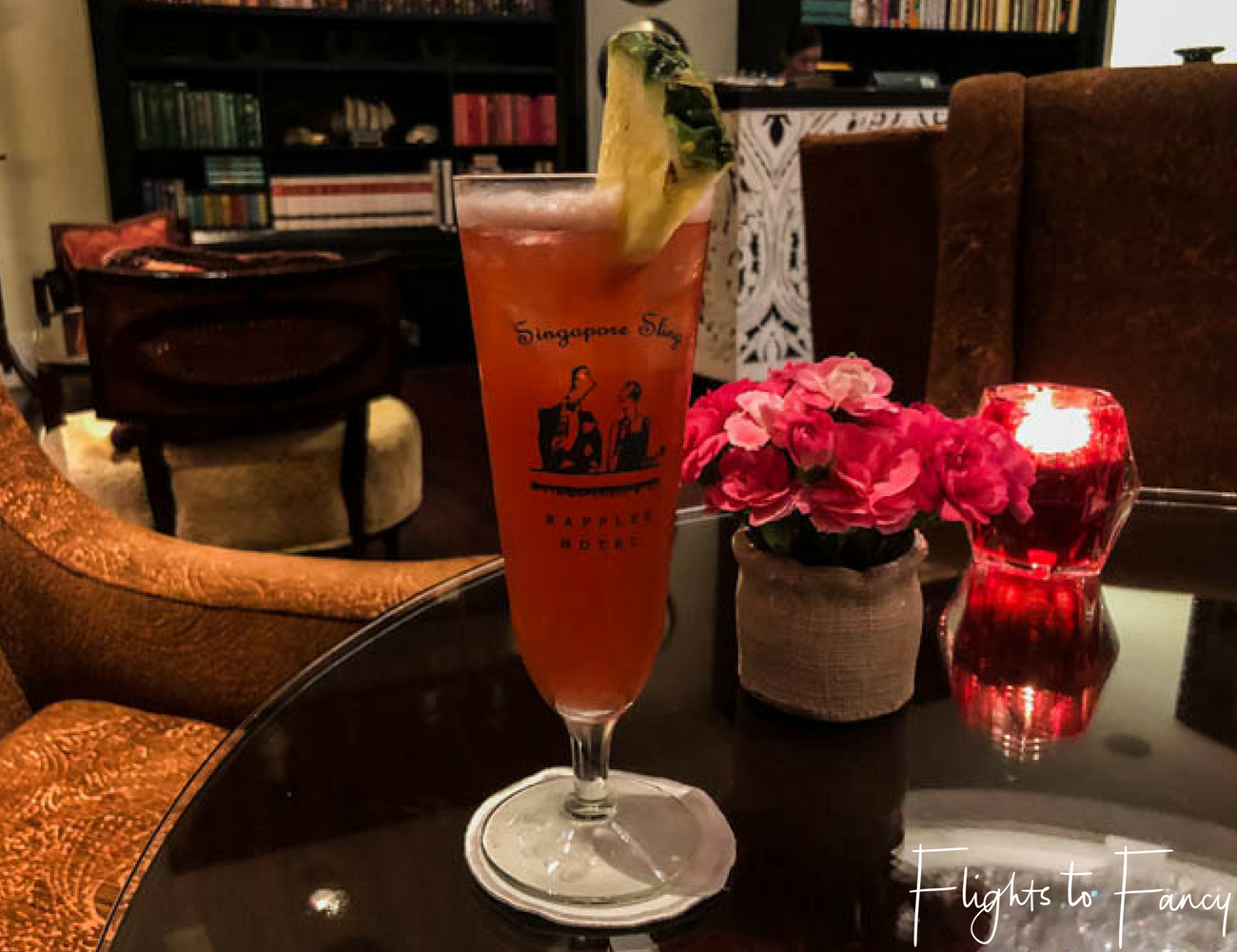Flights To Fancy @ Raffles Makati Manila - Who can resist a Singapore Sling