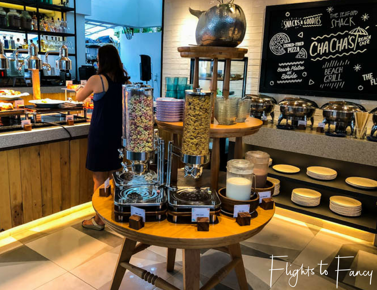 Flights To Fancy at Cha Cha's Boracay - Breakfast Buffet