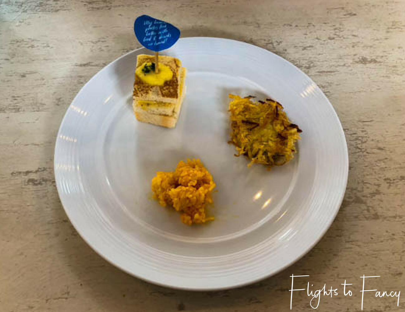 Flights To Fancy at Cha Cha's Boracay - Breakfast Miniatures