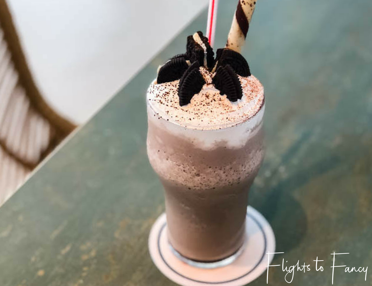 Flights To Fancy at Cha Cha's Boracay - Milkshake