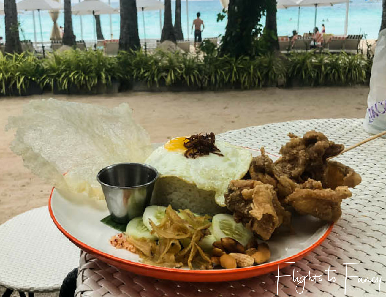 Flights To Fancy at Cha Cha's Boracay - Nasi Lemak