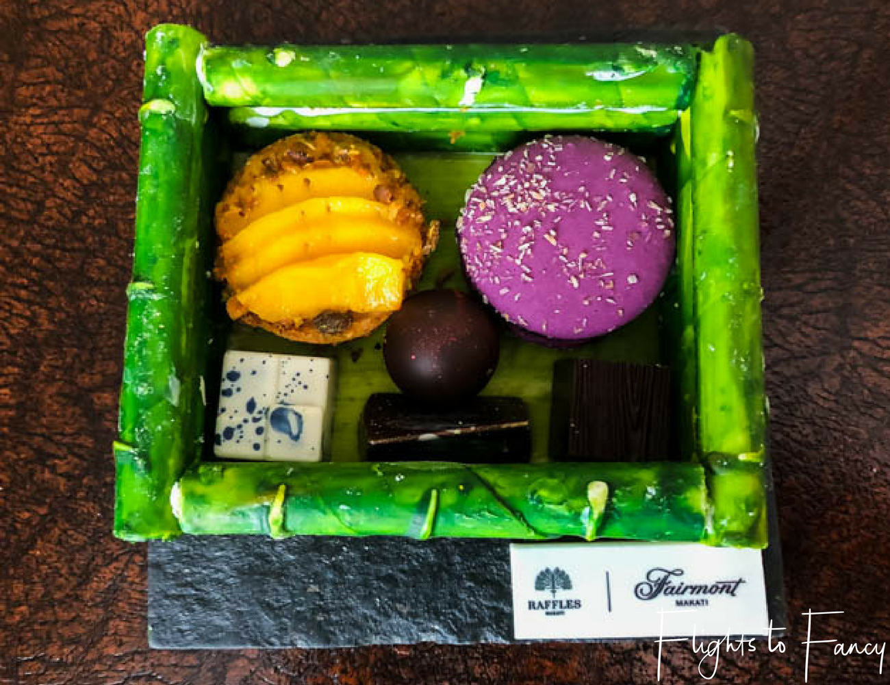 Flights To Fancy at Raffles Makati - Fancy chocolate art is one of the perks of staying at luxury hotels in Manila
