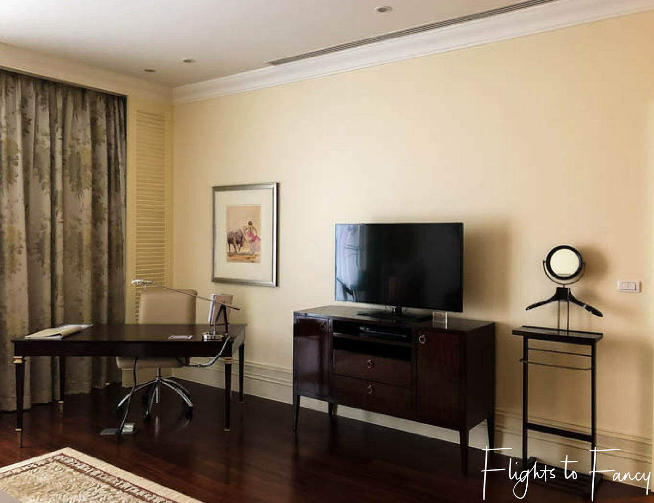 Flights To Fancy at Raffles Manila - 5 star hotel in Manila