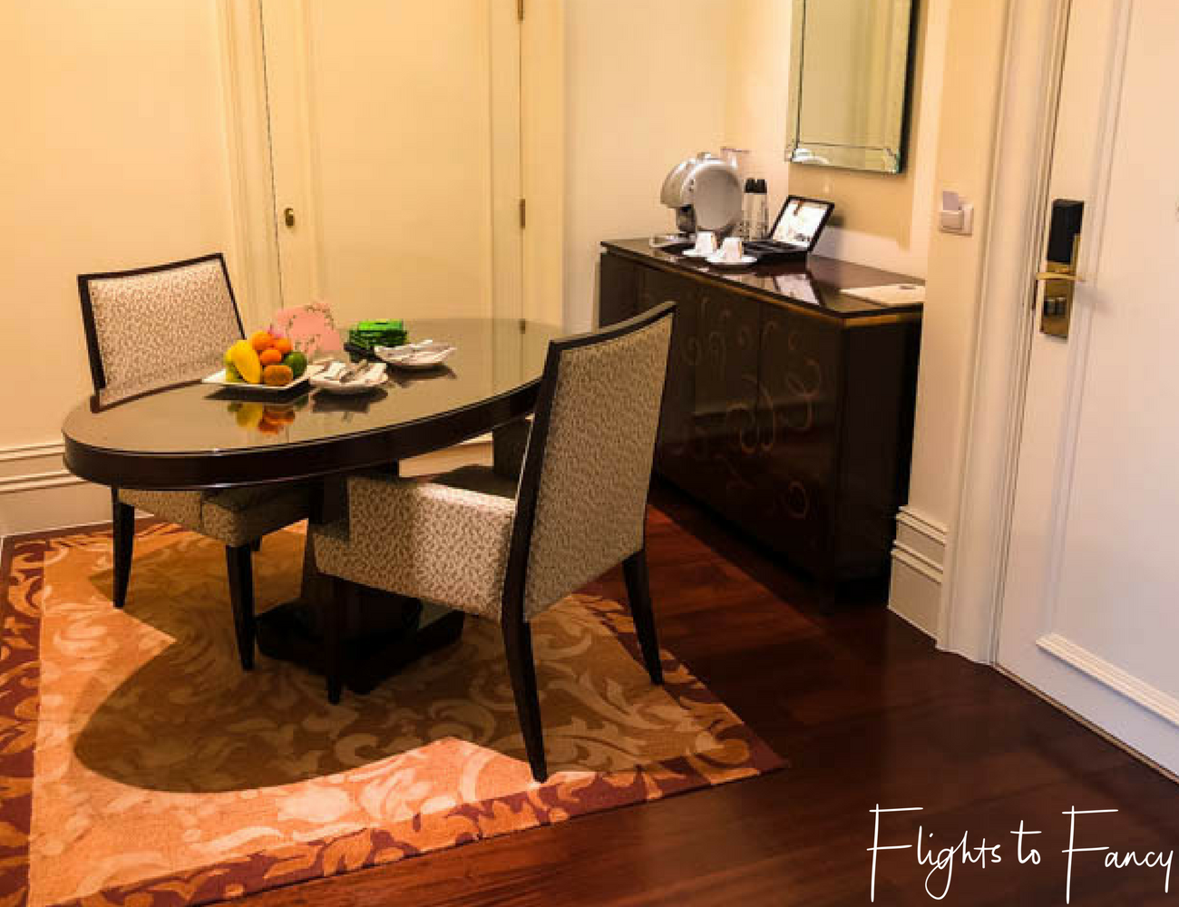 Flights To Fancy at Raffles Manila - One of my favourite hotels on Makati Ave