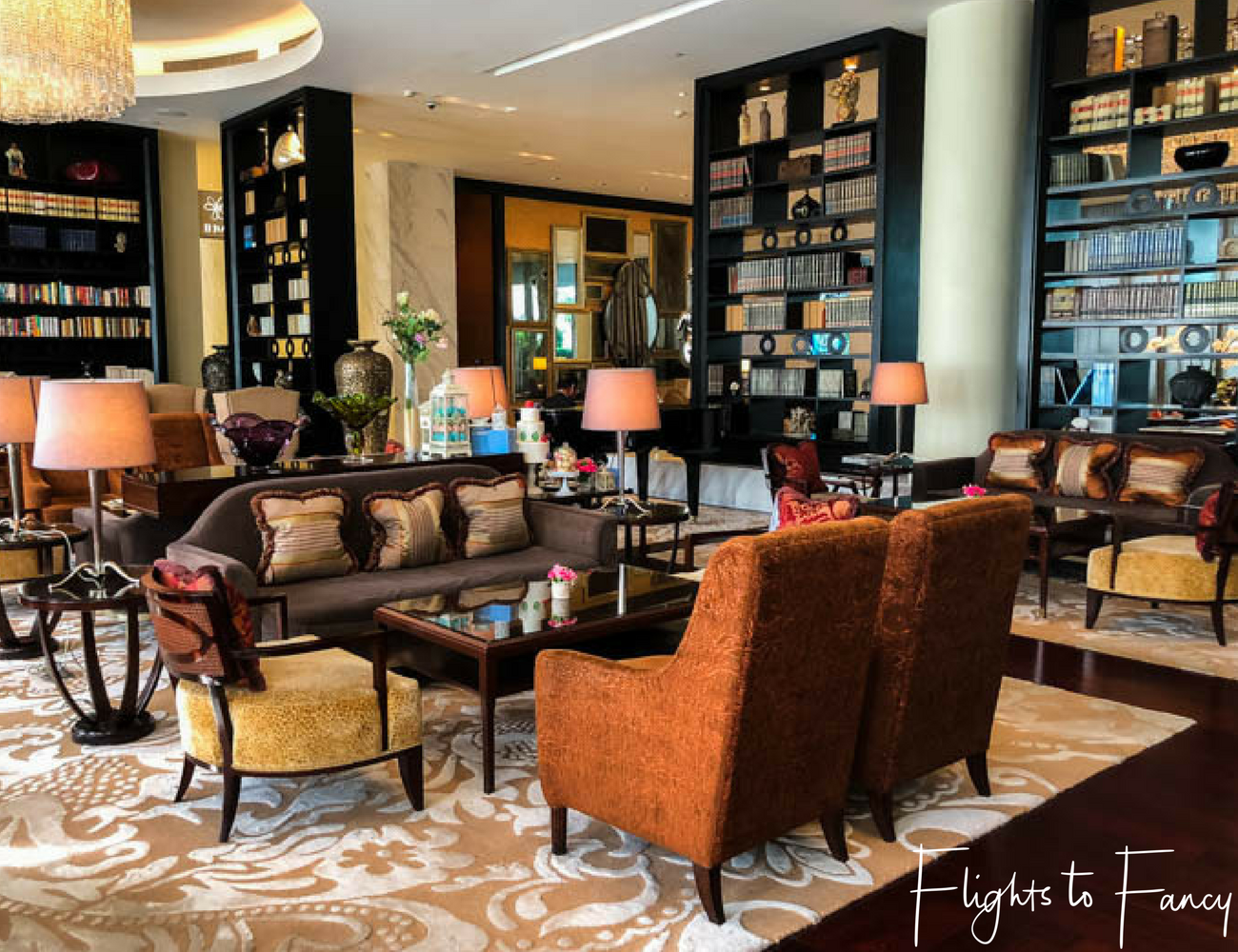Flights To Fancy at Raffles Manila - The Writers Bar in one of the best hotels in Makati