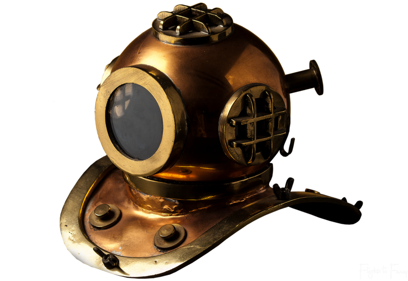 Helmet Diving in Boracay: Old Fashioned Diving Helmet