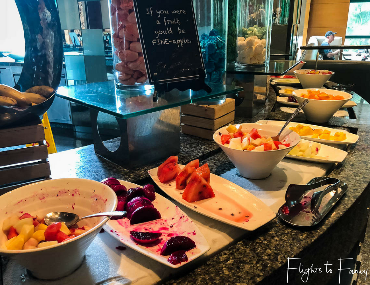 Hotel near SM Cebu City - Radisson Blue Cebu Fruit Buffet by Flights to Fancy