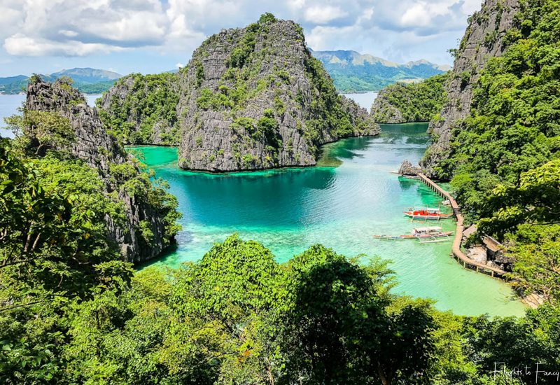 Island Hopping Coron: Kayangan Lake Coron View