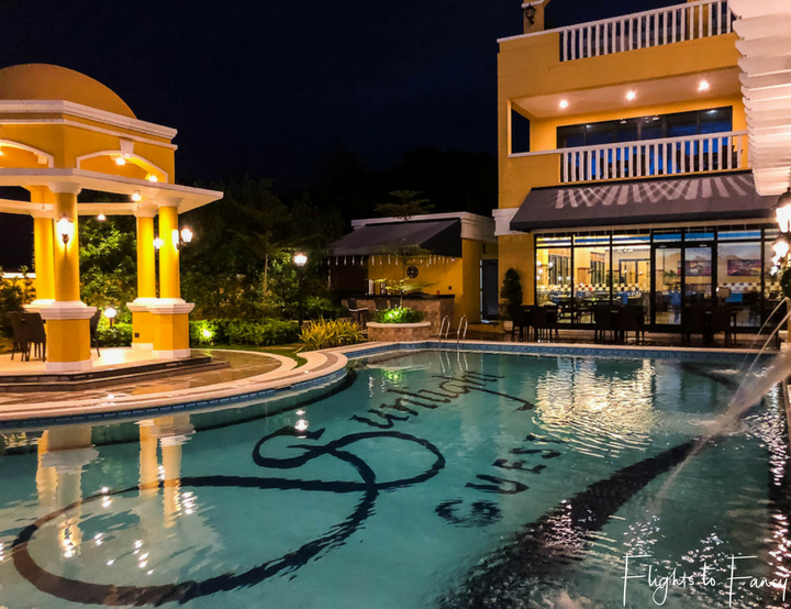 Best Hotel In Coron Pool At Night Sunlight Guest Palawan