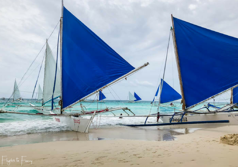 Sailing at White Beach Boracay - Flights To Fancy at Coast Boracay