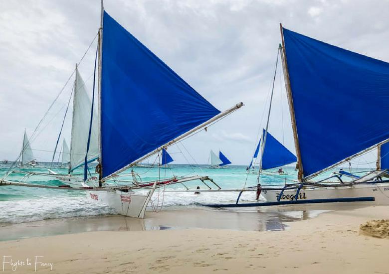 Sailing at White Beach in Boracay Station 2 - Flights To Fancy at Coast Boracay