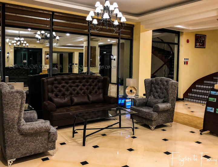 Places to stay in Coron: Sunlight Guest Hotel Coron Palawan Lobby