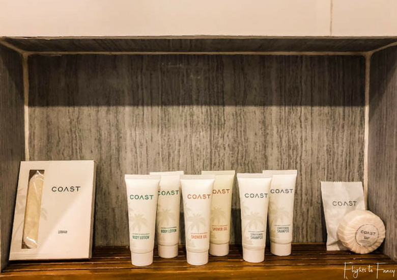 Toiletries Coast Boracay - Flights To Fancy at Coast Boracay