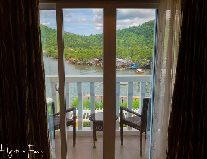 Where to stay in Coron: View from the Sunlight Guest Hotel Coron Palawan