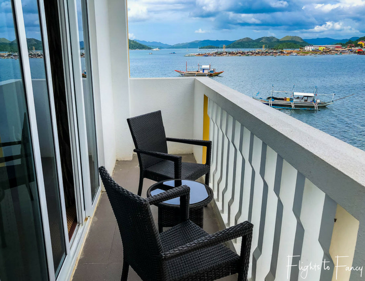 Hotels in Coron Philippines: Balcony at Sunlight Guest Hotel Coron Palawan Philippines