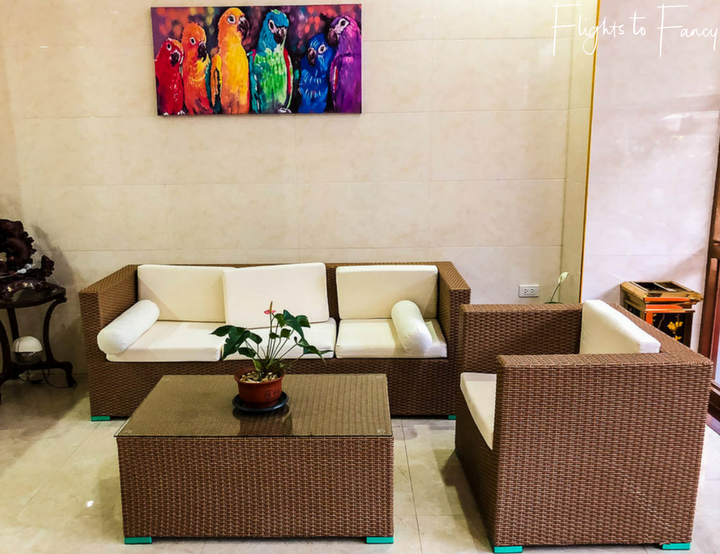 Best Place To Stay In El Nido: One El Nido Suite Reception