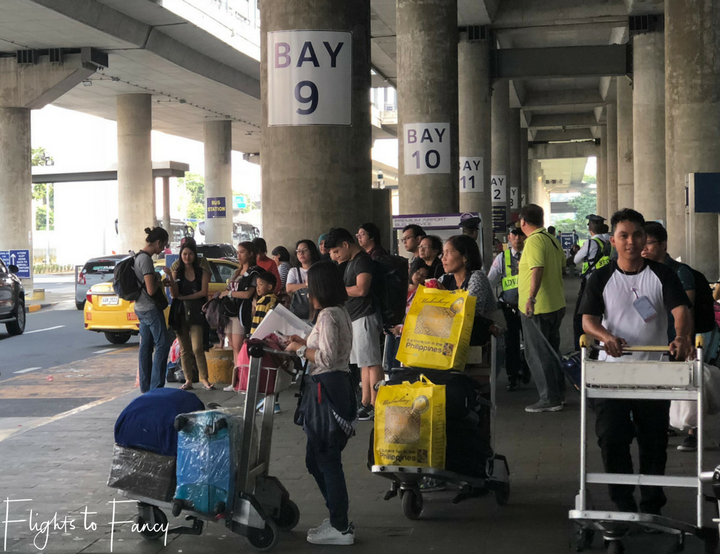 Using Uber in Manila: Uber NAIA pick up bays