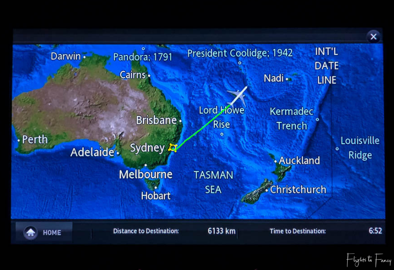 Flight Map Jetstar Flight to Honolulu