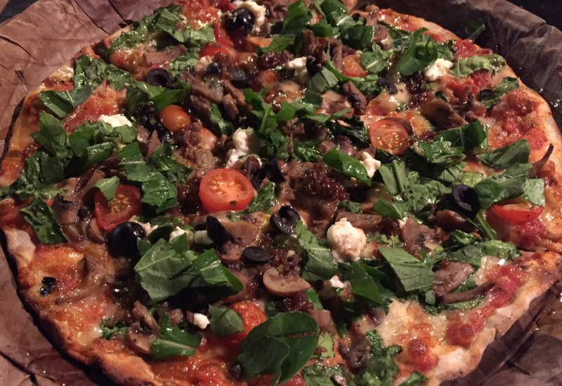 World's Best Pizzas: Saraya Art Cafe