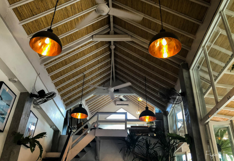 The Loft Canggu Cafe Interior