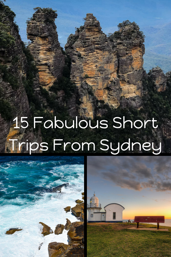 Need inspiration for Sydney weekend getaways? I've got 15 fabulous Sydney weekenders for you right here. These short trips from Sydney are sure to please! #sydney #travel #sydneyweekend #sydneyroadtrip #sydneygetaways