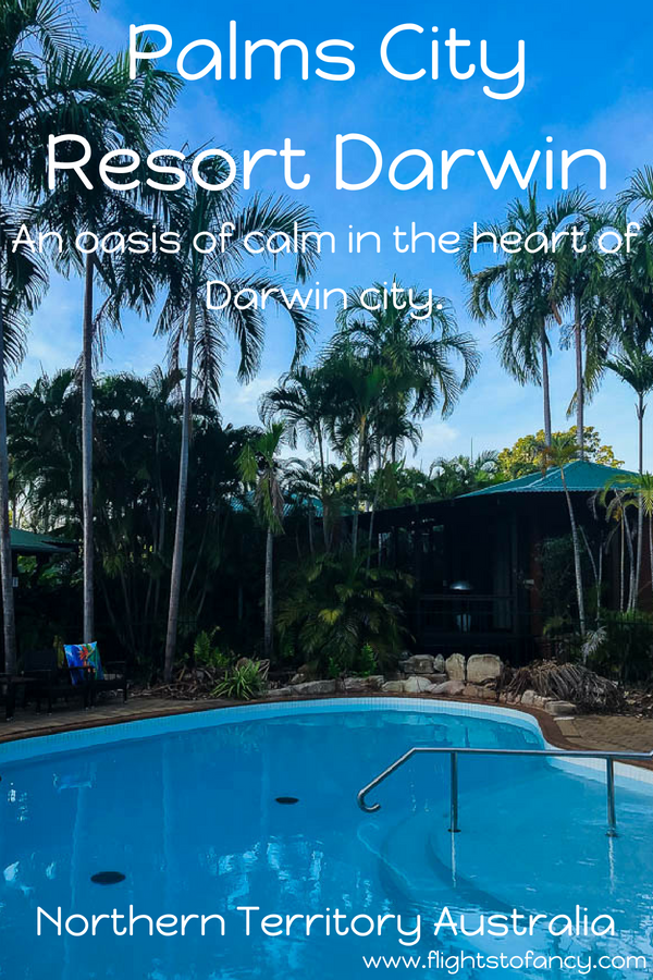 Palms City Resort Darwin is an oasis of calm in the heart of Darwin's CBD. Start your search for self-contained accommodation in Darwin right here! #travel #darwin #australia #darwinaccommodation