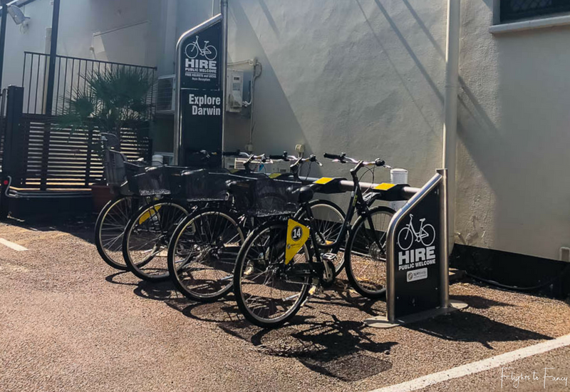 Palms City Resort Darwin Bike Hire