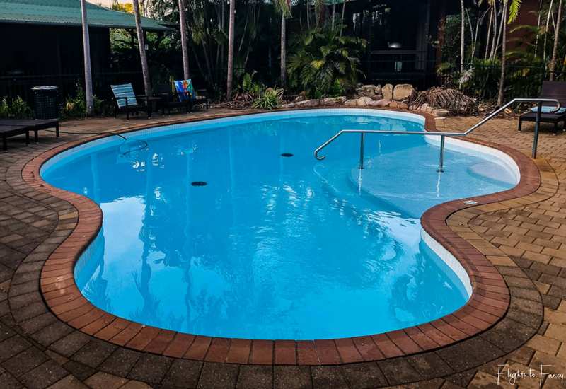 Palms City Resort Darwin Main BBQ Poolside
