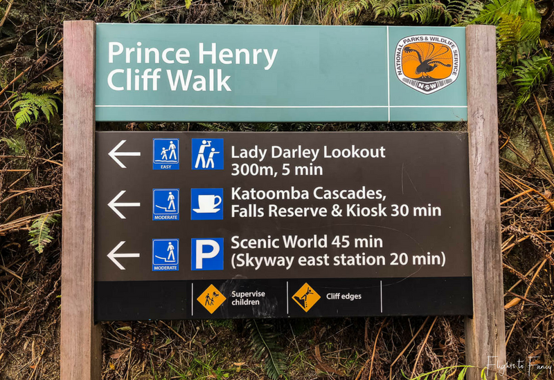 Prince Henry Cliff Walk Blue Mountains New South Wales