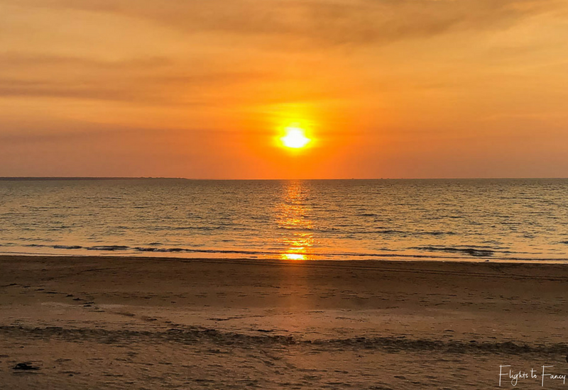 Sunset Mindil Beach Darwin