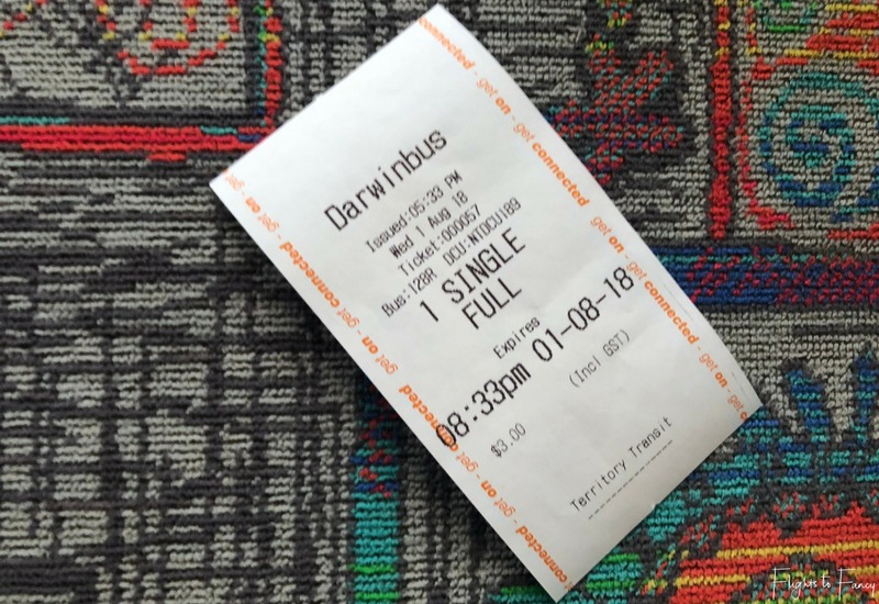 Darwin Public Bus Ticket