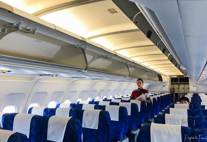 Bassaka Air Cabin on flights to Siem Reap From Phnom Penh