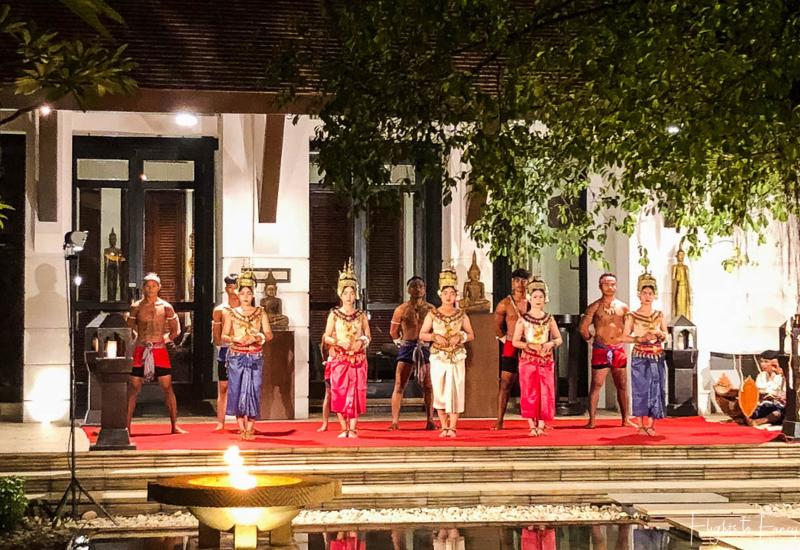 Cambodian Cultural Show at Park Hyatt Siem Reap Restaurant