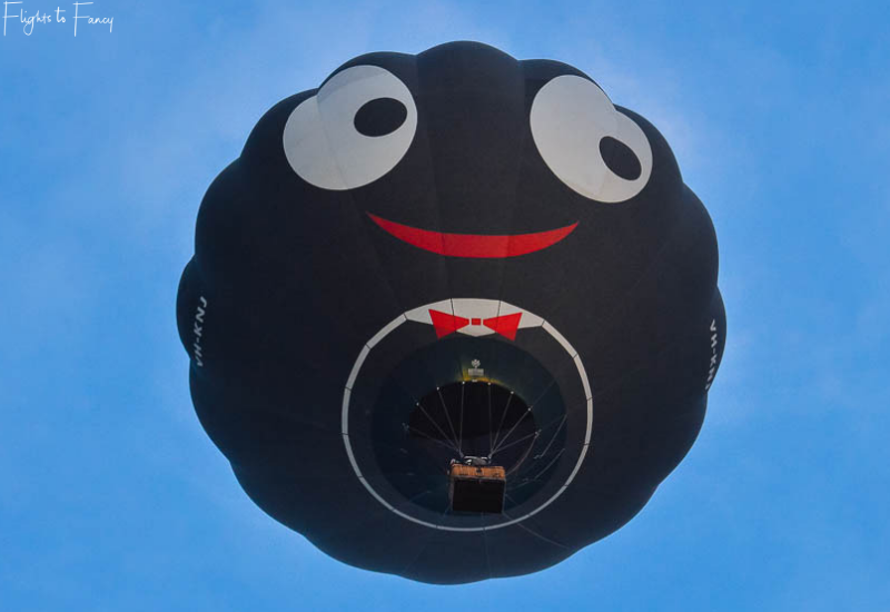 Canberra Balloon Festival - Smiling face
