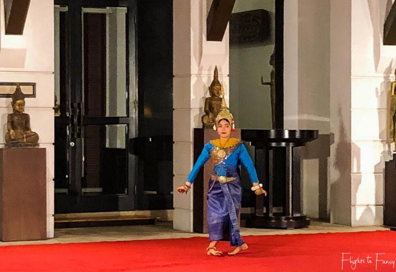 Cultural show at Park Hyatt Siem Reap