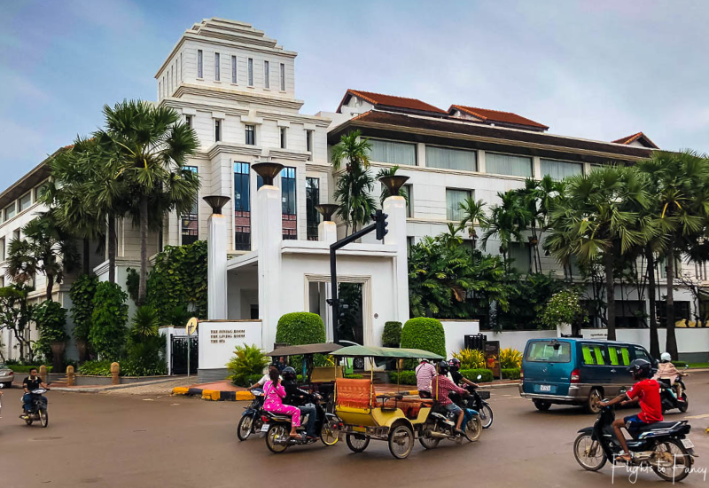 Exterior of the Park Hyatt Siem Reap