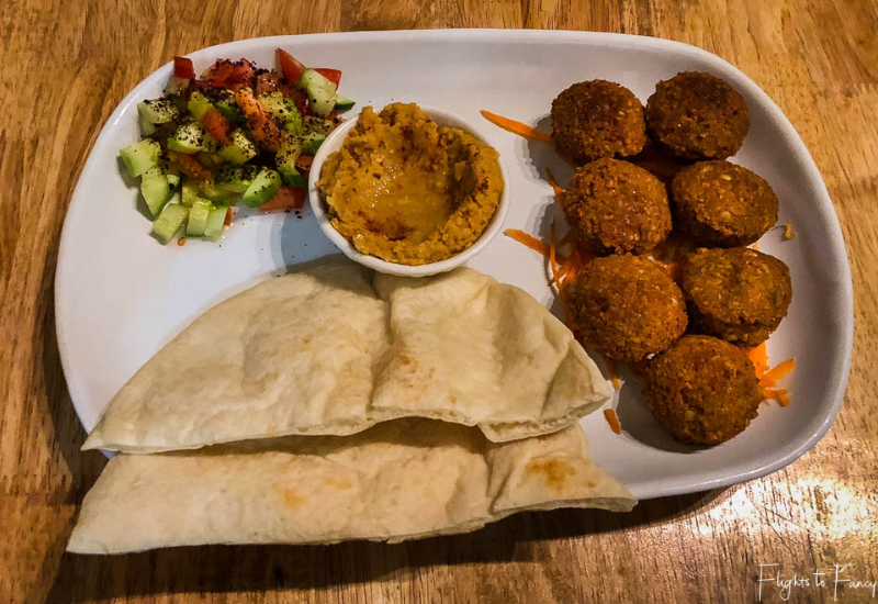 Falafel from Atmosphere in Siem Reap