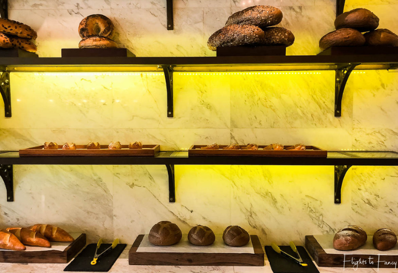 Fresh Bread at The Glasshouse at the Park Hyatt Siem Reap
