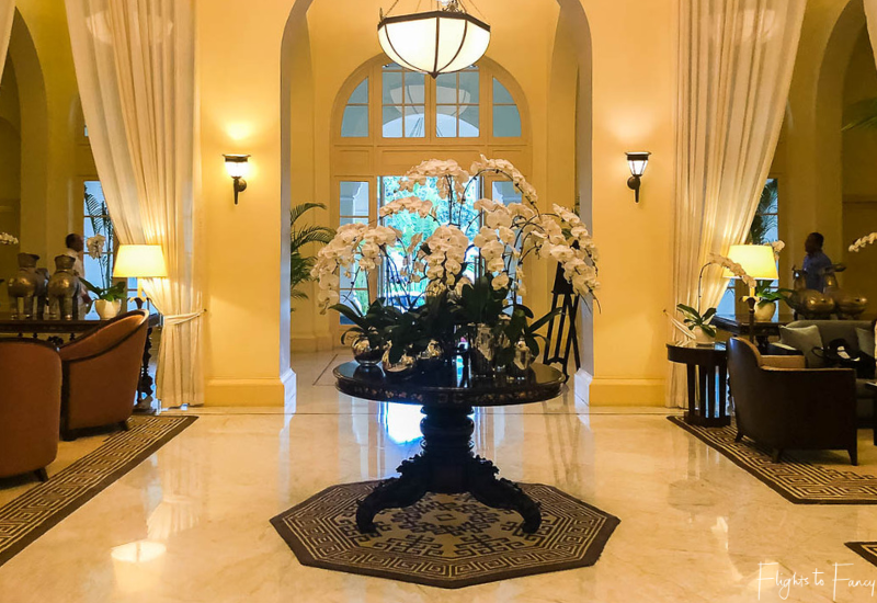 Lobby Raffles Hotel Le Royal Phnom Penh
