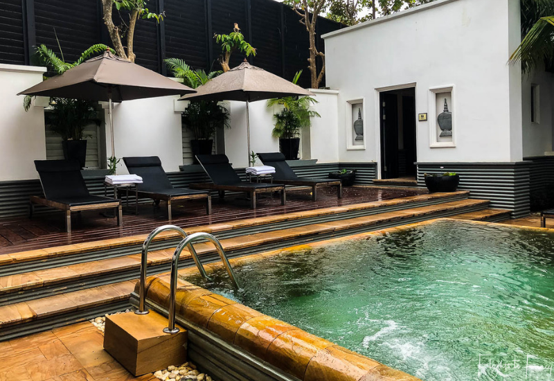 Only the very best hotels in Siem Reap boast two pools @ Park Hyatt
