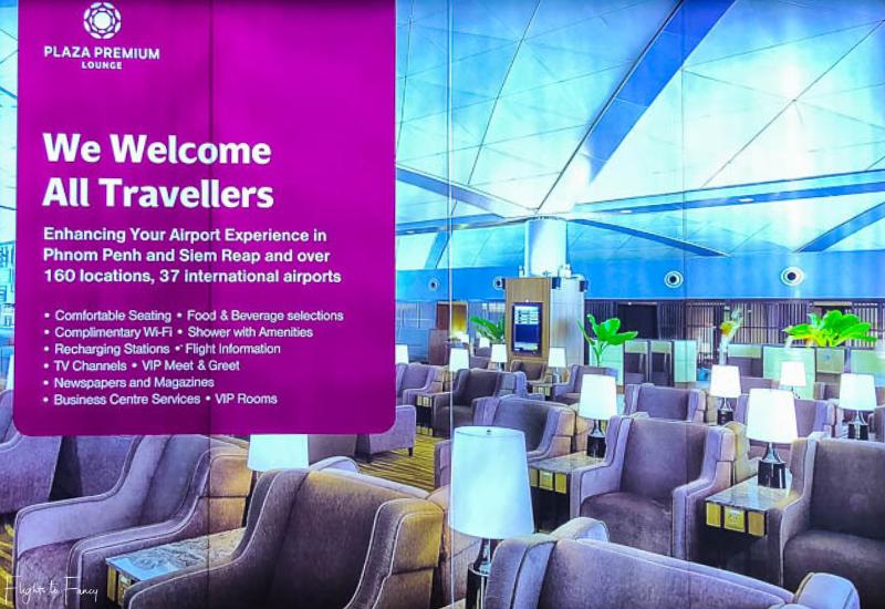 Plaza Premium Lounge Phnom Penh Airport