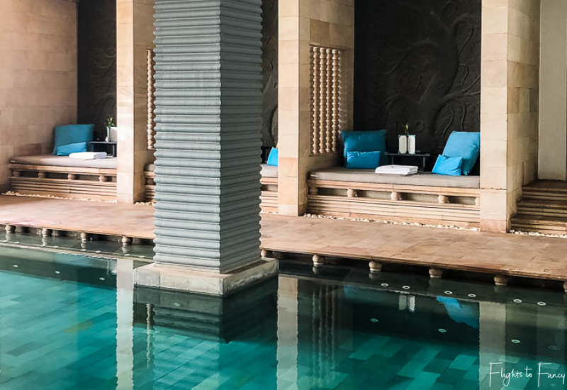 Poolside Cabanas At The Park Hyatt Hotel Siem Reap