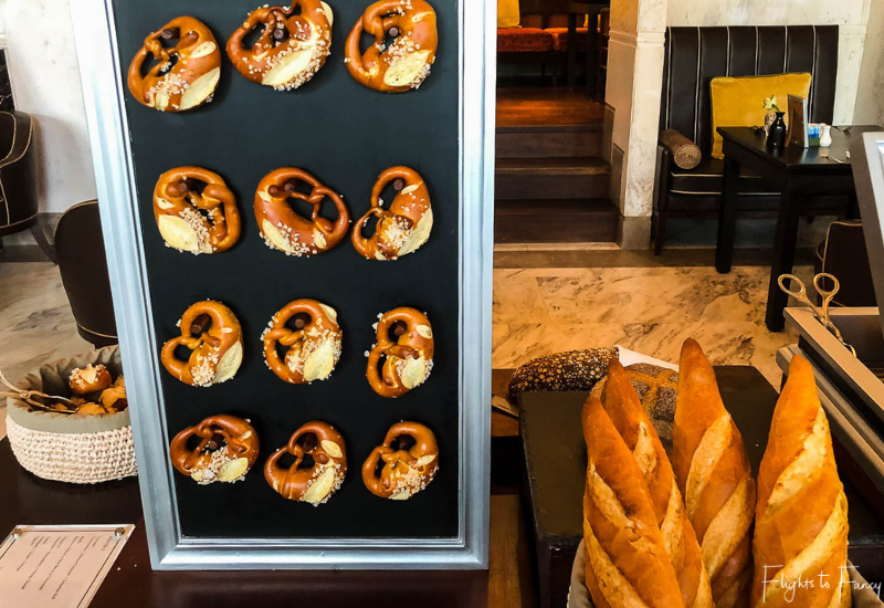 Pretzel Board Siem Reap Breakfast Buffet at Park Hyatt Siem Reap Luxury Hotel