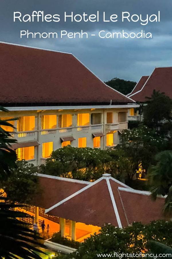 Raffles Hotel Le Royal is an outstanding luxury hotel in Phnom Penh. If your taste runs to the finer things in life, this is where to stay in Phnom Penh. #phnompenh #cambodia #luxuryhotel #wheretostayinphnompenh