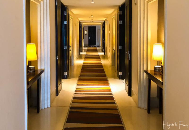 Second Floor Hallway At The Park Hyatt Siem Reap
