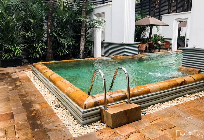 Second Pool at the Park Hyatt Siem Reap