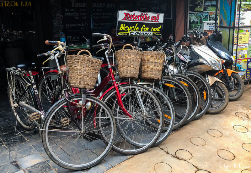 Transport in Phnom Penh - Bicycle Hire